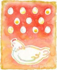 卵が先か、鶏が先か
