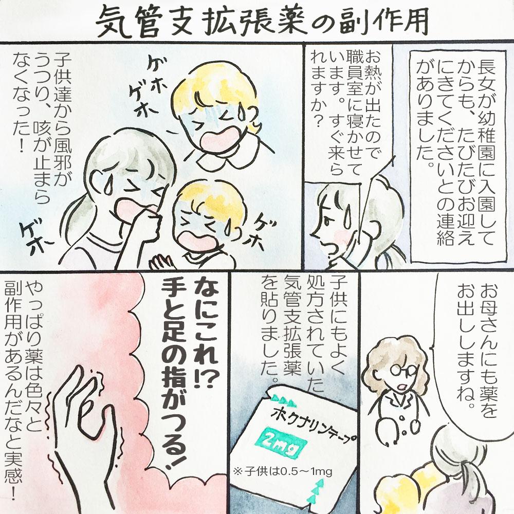 子供の病気がうつった!気管支炎から副作用、そして副鼻腔炎へ。