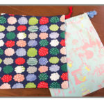 ボタンホール縫いを使った、超簡単な巾着袋の作り方