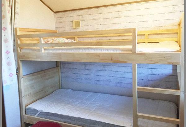 IKEA(イケア)で購入した2段ベッドの組み立て。