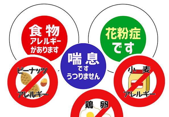 100均(Seria)の手作り缶バッジ(57mm)用、アレルギーバッジ素材